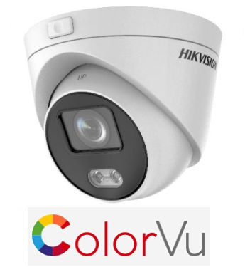 IP видеокамера Hikvision  DS-2CD2347G3E-L (4 ММ) 4 Mp ColorVu